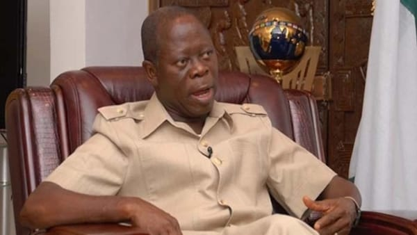 Image result for Chairman of the All Progressives Congress, Comrade Adams Oshiomhole